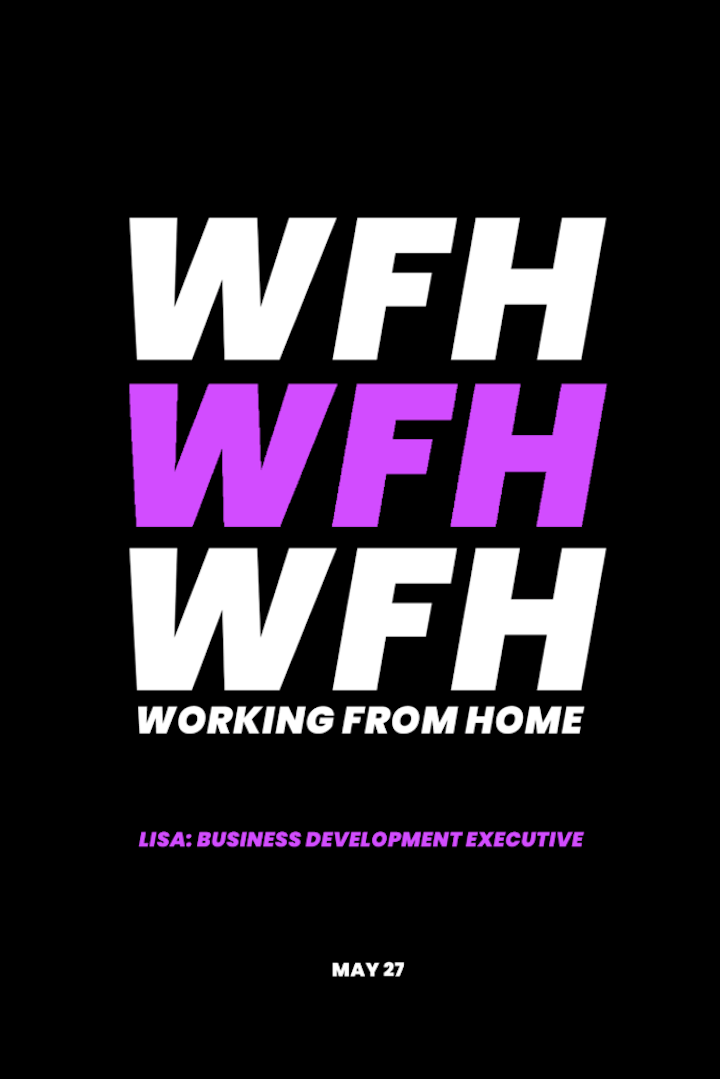 The working from home diaries 2020: Lisa, Business Development Executive