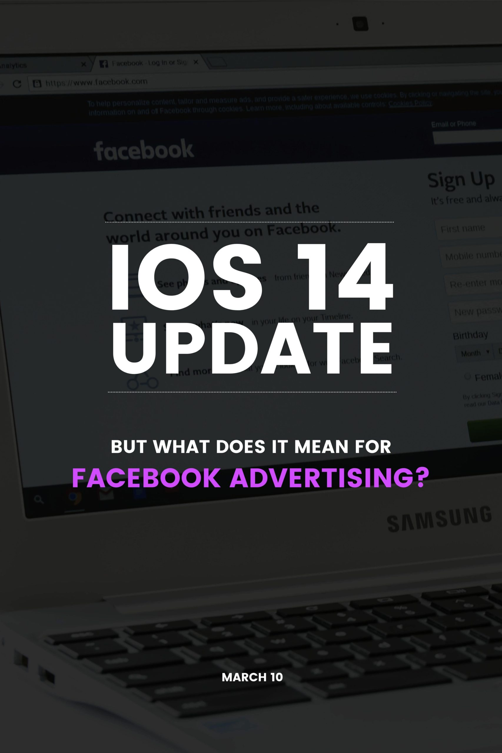 iOS 14 Update: Facebook advertising